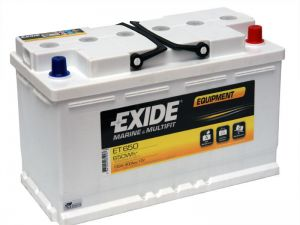 Baterie EXIDE EQUIPMENT 100Ah, 12V, ET650 (ET 650)