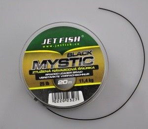 Jet Fish Mystic Black 25lb 20m