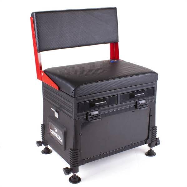 JVS Feeder sedací box - 32 x 42 x 60 / 5kg - červený Ostatní