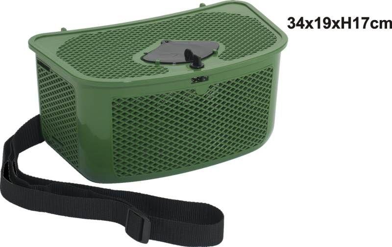 Košík s otvorem na vkládání ulovků 55