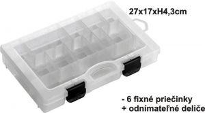 Krabička 27x17x4,3cm,6pev+var.př.