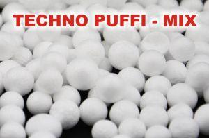 Polystyrénové kuličky - techno puffi MIX