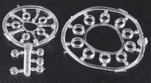Boilies stopper (silikonové tyčinky a kroužek) 55