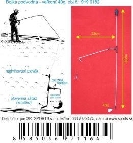Podvodní bójka 40g / 60cm / 23cm