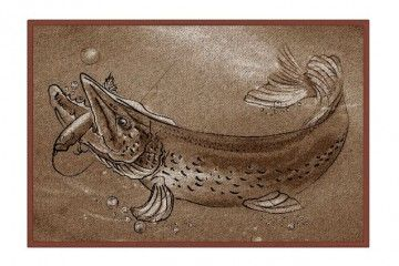 Rohožka Retro ŠTIKA Delphin