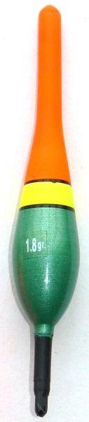 Splávek na ryby, délka 185mm / nosnost 3,05 gr 55