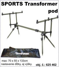 SPORTS Transformer pod - Pro tři pruty