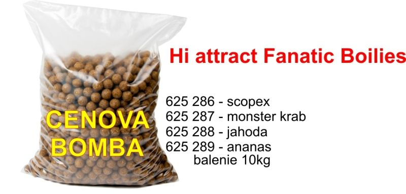 Hi Attract Fanatic boilies 20mm 10kg BBQ maso