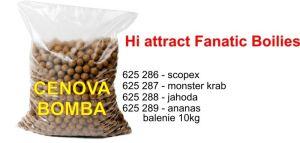 Hi Attract Fanatic boilies 20mm 10kg jahoda