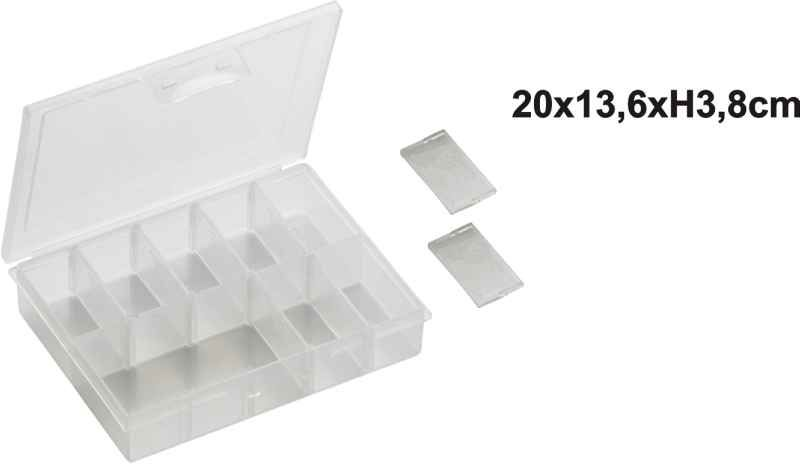 Krabička na nástrahy 13,5x10x2,7cm