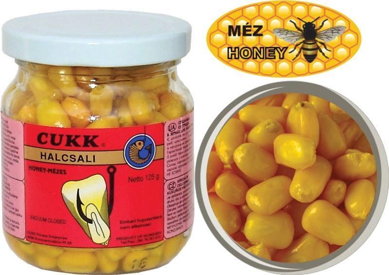 Kukuřice CUKK bez nálevu - 125g mango
