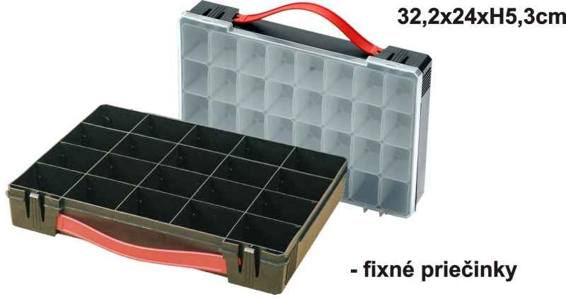 Mini BOX 32,2x24x5,3 - variab. přihrádky