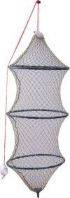 Vezírek na ryby 125cm/š.35cm - 4 kruhy
