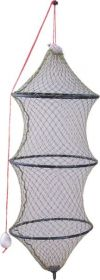 Vezírek na ryby 175cm/š.50cm - 3 kruhy bezuzlová