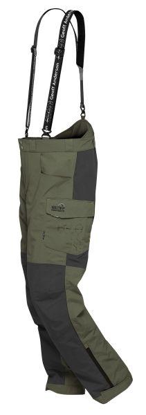 Kalhoty Geoff Anderson BARBARUS zeleno/černá S