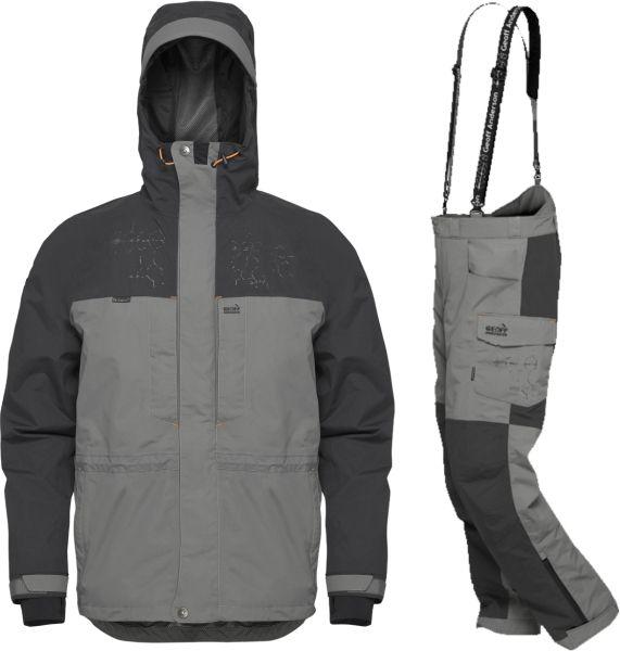 Geoff Anderson BARBARUS - bunda + kalhoty - šedá-M