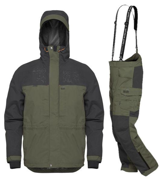 Geoff Anderson BARBARUS - bunda + kalhoty - zelená-M