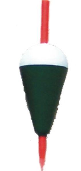 Splávek bílo-zelený S 1.5g
