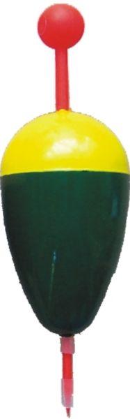 Splávek na lov ryb žluto-zelený KP 8g