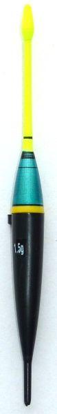 Splávek na ryby - délka 112mm/nosnost 1,5 gr