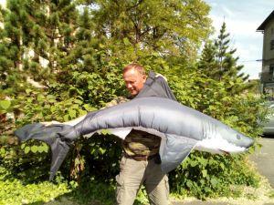 Polštář ŽRALOK OBR 200cm