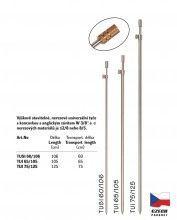 Teleskopická univerzální tyč nerezová - TUI 75/125 cm
