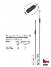 Teleskopická univerzální tyč s prodlouženou špicí - TUP  65/105 cm