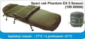 Spacák Phantom EX 5 season, 220x90cm / 4,85kg