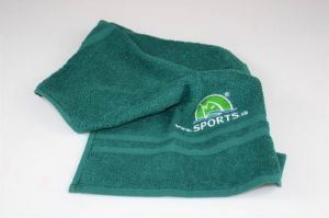 Bavlněný ručník s logem SPORTS 50x30cm 55