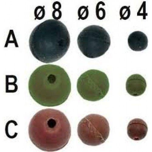 Carp System Gumová Kulička průměr 6mm