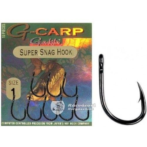 Háčky Gamakatsu G-Carp Super Snag Hook