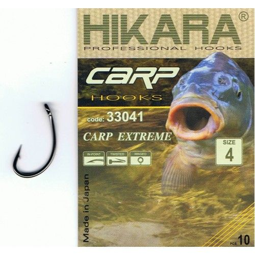 Háčky Kaprové Hikara Carp Extreme