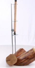 Sumcový držák prutu s kladkou 79cm 55