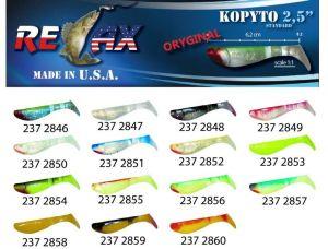 RELAX kopyto RK 2,5 (6,2cm) cena 1ks/bal10ks 2846 červený ocásek