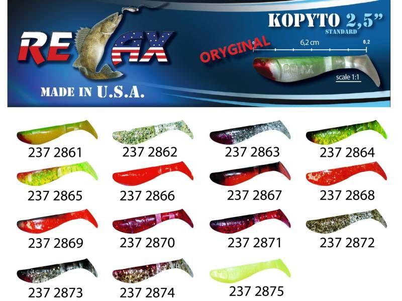 RELAX kopyto RK 2,5 (6,2cm) cena 1ks/bal10ks 2861