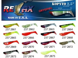 RELAX kopyto RK 2,5 (6,2cm) cena 1ks/bal10ks 2865