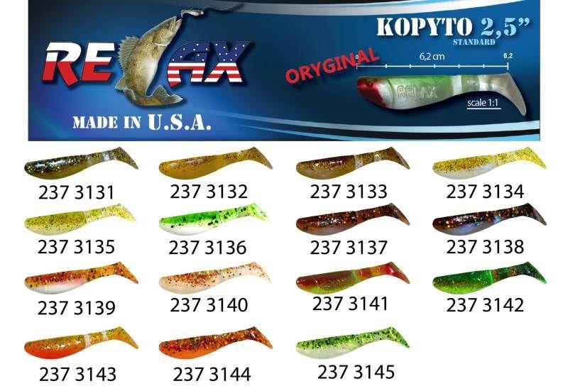 RELAX kopyto RK 2,5 (6,2cm) cena 1ks/bal10ks 3131