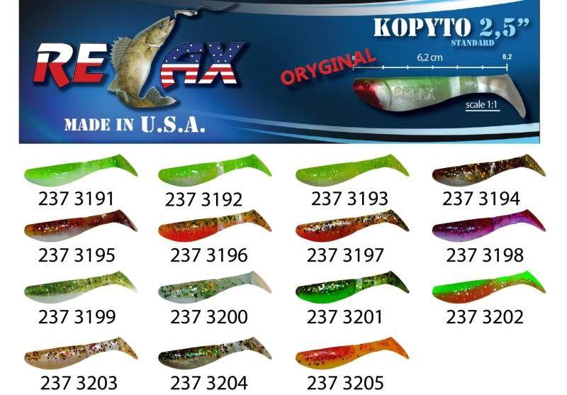 RELAX kopyto RK 2,5 (6,2cm) cena 1ks/bal10ks 3202
