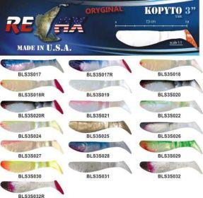 RELAX kopyto RK3-7,5cm 10ks v bal. barva 0019