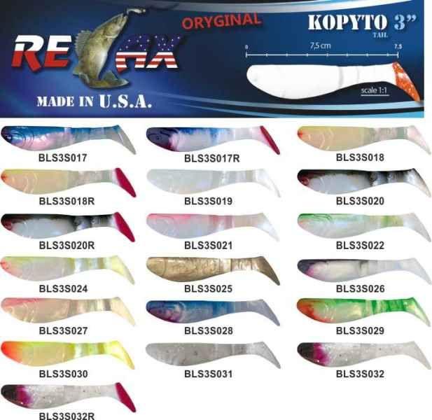 RELAX kopyto RK3-7,5cm 10ks v bal. barva 0023