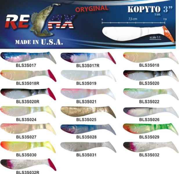 RELAX kopyto RK3-7,5cm 10ks v bal. barva 0027