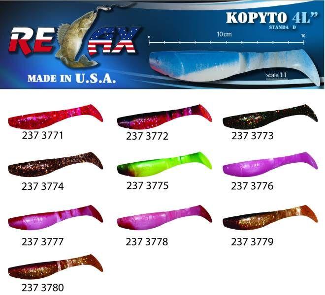 RELAX kopyto RK4-10cm - přívlačová nástraha 3771
