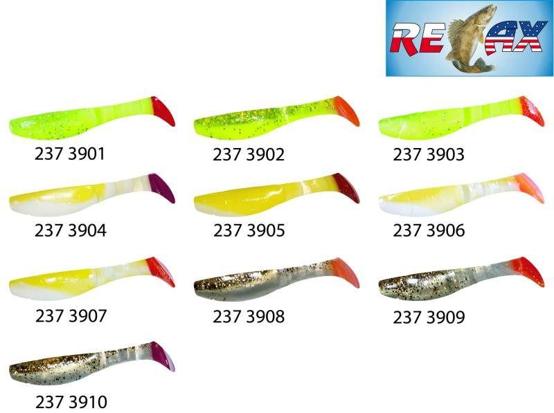 RELAX kopyto RK4-10cm - přívlačová nástraha 3901