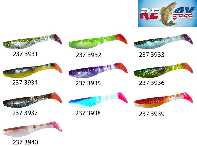 RELAX kopyto RK4-10cm - přívlačová nástraha 3931