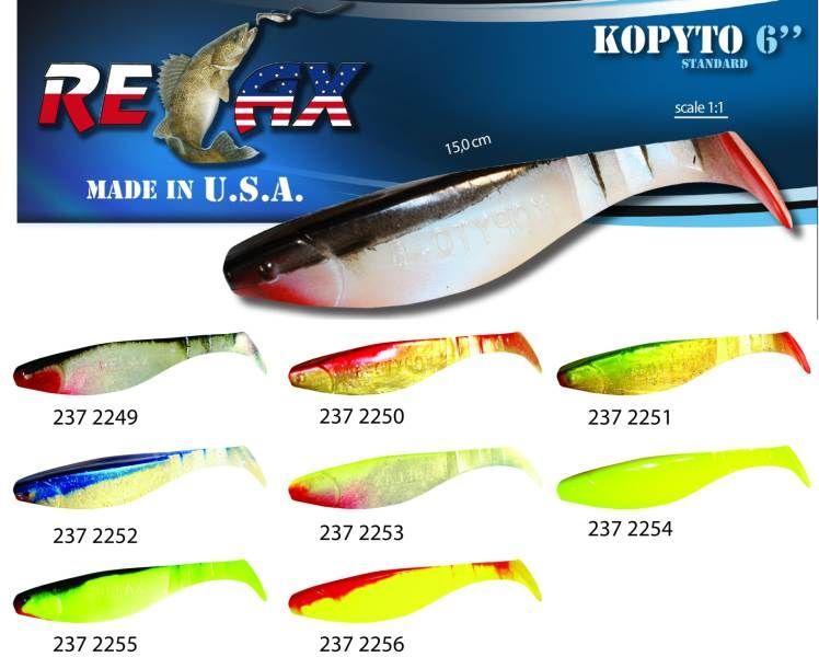 RELAX kopyto RK6 (15cm) cena 1ks/bal5ks 2252 červený ocásek
