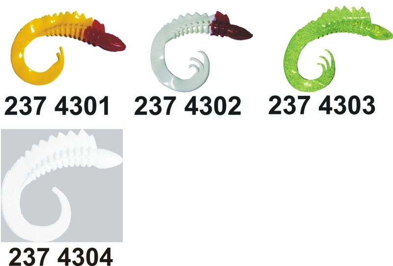 RELAX twister viper 6 (13cm)1ks/bal25ks barva 4301
