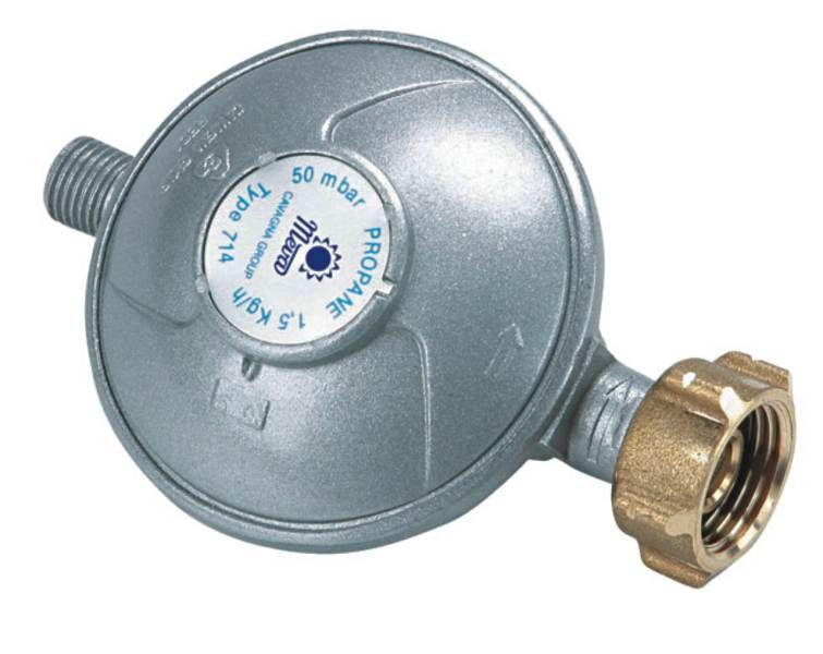 Regulátor tlaku 50mbar,G1/4 palce L