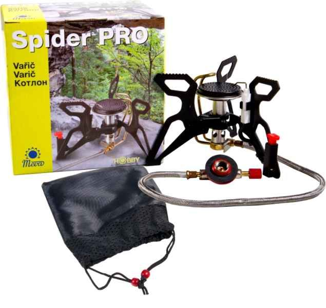 Rybářský skládací vařič SPIDER PRO piezo