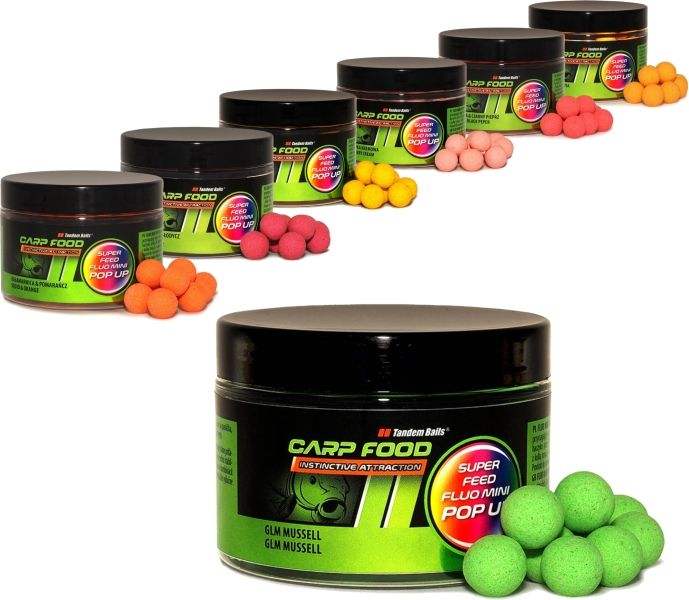 Super Feed Fluo Pop Up boilies 14/18mm 200ml,Crazy Lobster