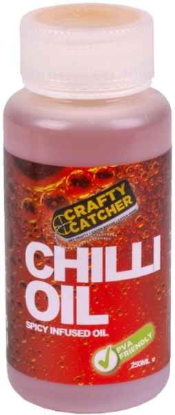 Tekuty posilovač Chilli olej Crafty Catcher 250ml